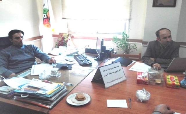 جلسه برنامه ریزی و هماهنگی مسابقات استانی