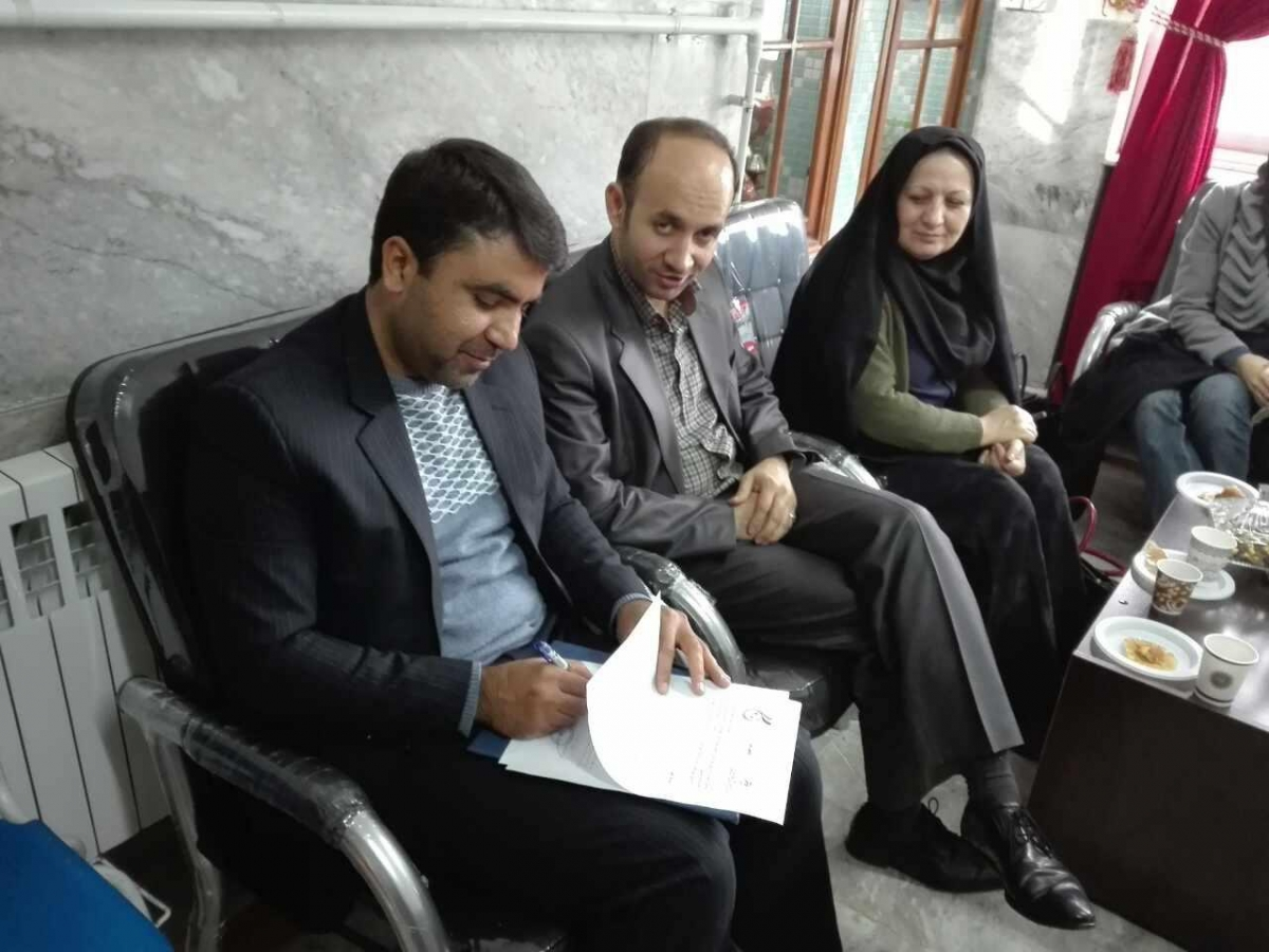 جلسه عقد تفاهم با هیأت کبدی استان زنجان